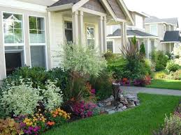 garden landscaping ideas low maintenance small front yard