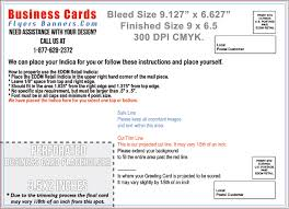 standard business card size bleed mm and slug with photoshop