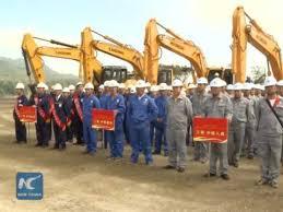 china laos railway breaks ground overseas railway linking