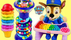 Matching Colors Learn Colors Paw Patrol Baby Chase Matching Colors Gumball Ice