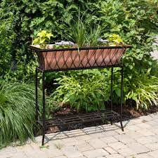 Hooks And Lattice by Outdoor Planters And Flower Pots Signature Hardware