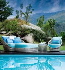 outdoor decor contemporary outdoor décor with polished sculptural style enchants