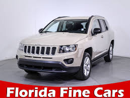 Used 2017 Jeep Compass Sport Suv For Sale In Hollywood Fl 84947