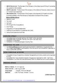 Resume For Mba Finance Fresher International Resume Format Free Download Resume Format 3d