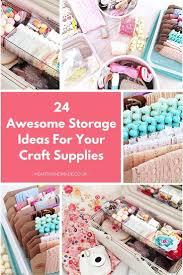 26 craft storage ideas craft storage solution 6quot x 6quot