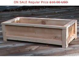 cedar planter plans wood working plans outdoor planters