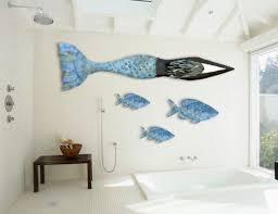 mermaid themed bathroom mermaid bathroom wall decor house decor ideas mermaid bathroom