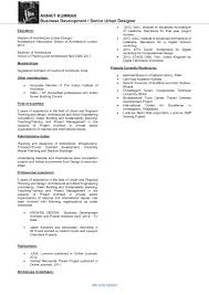 Project Architect Resume Our People