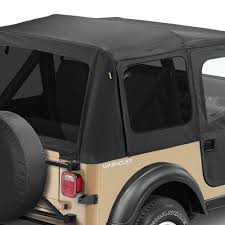 jeep soft top black bestop replace a top fabric only soft top