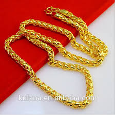 gold necklace chains wholesale images Stainless steel material wholesale 24k gold filled twisted jpg