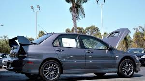 mitsubishi evo 7 stock this lancer evo has only 9 miles on it and it u0027s going for over