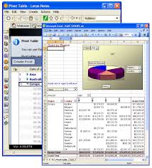 Excel Pivot Table Template Swing Integrator 4 Provides Automated Document Assembly With Notes