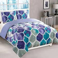 Teal Bed Set Emmi Comforter Set In Purple Teal Buybuy Baby