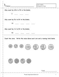 value of coins worksheet worksheets