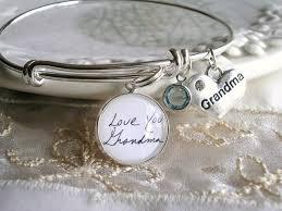 custom charm handwriting charm bracelet sonogram child artwork custom charm