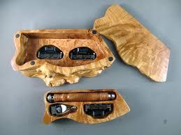 Handmade Wooden Gifts - razor handle mach 3 and edge box s