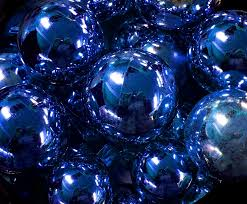 free photo blue balls ornaments free image on