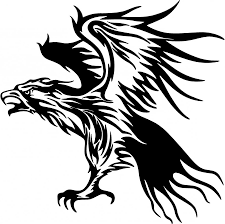 top albanian eagle tattoo tribal flames carvehicle stickers decal