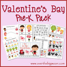 valentine u0027s day pre k pack over the big moon