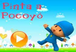 play pocoyo paint 100 free fan free games