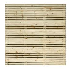 grange contemporary slatted fence panel w 1 79 m h 1 793m pack