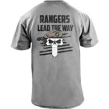 Army Ranger Flag Amazon Com Army Rangers Lead The Way Skull T Shirt Clothing