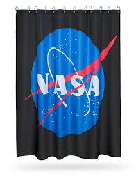 Classic Shower Curtain Nasa Shower Curtain Thinkgeek