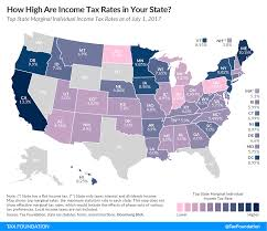 Tennessee Area Code Map by State Individual Income Tax Rates And Brackets 2017 Tax Foundation