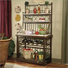 Bakers Rack Lenexa Bakers Rack For Pots And Pans Victoria Homes Design