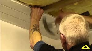 Bathroom Ceiling Cladding Pvc Panels Ceiling Cladding Installation Angel Plastics Youtube