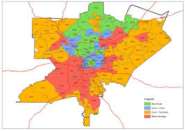 Dallas County Zip Code Map by Atlanta Zip Code Map Zip Code Map