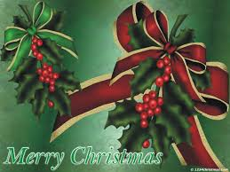 christmas holly leaves wallpapers for free download