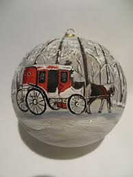 and carriage ornament