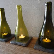 Lamps Made From Bottles Best Wine Bottle Candle Holder Products On Wanelo