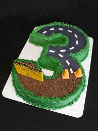 construction birthday cake for a 3 year old yelp