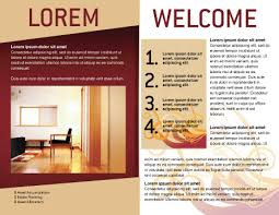 welcome brochure template apartment design brochure template design and layout now