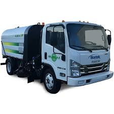 global v4 vacuum air street sweeper bortek industries