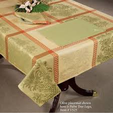 Logo Table Cloth by Pineapple Table Linens