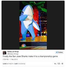 San Jose Sharks Meme - san jose sharks super bowl xlix halftime left shark know your meme