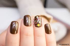 natural nails gel polish perfect clean manicure with zero