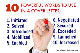 Good Words To Use In Resume Good Words To Use In Resume
