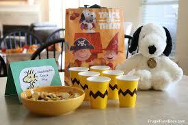 food ideas for a peanuts birthday