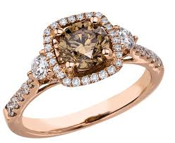 brown diamond engagement ring brown chocolate diamond engagement rings