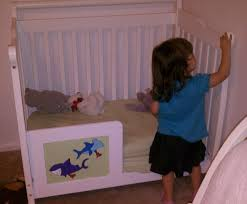 Crib That Converts To Twin Size Bed by Ocean Nursery Update 2 U2013 Turning The Mini Crib Into A Toddler Bed
