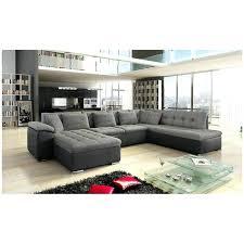canap gris et noir canape cuir en u canapac dangle panoramique alia et convertible gris