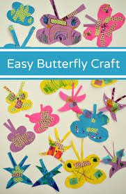 easy paper butterfly craft fantastic fun u0026 learning