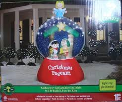 Peanuts Outdoor Christmas Decorations Snoopy Inflatable Christmas Yard Decorations Fun Holiday Decor