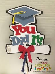 graduation sign miss kate cuttables you did it graduation sign