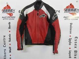 red leather motorcycle jacket alpinestars tz 1 red leather motorcycle jacket eu 46 uk 36