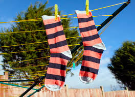 Home Upgrades Hang Clothes On Clothesline Energy Efficient Homes Upgrades